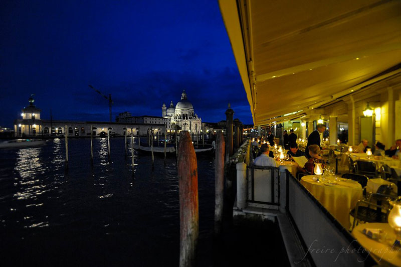 beautiful view from restaurant on st. Marco sq