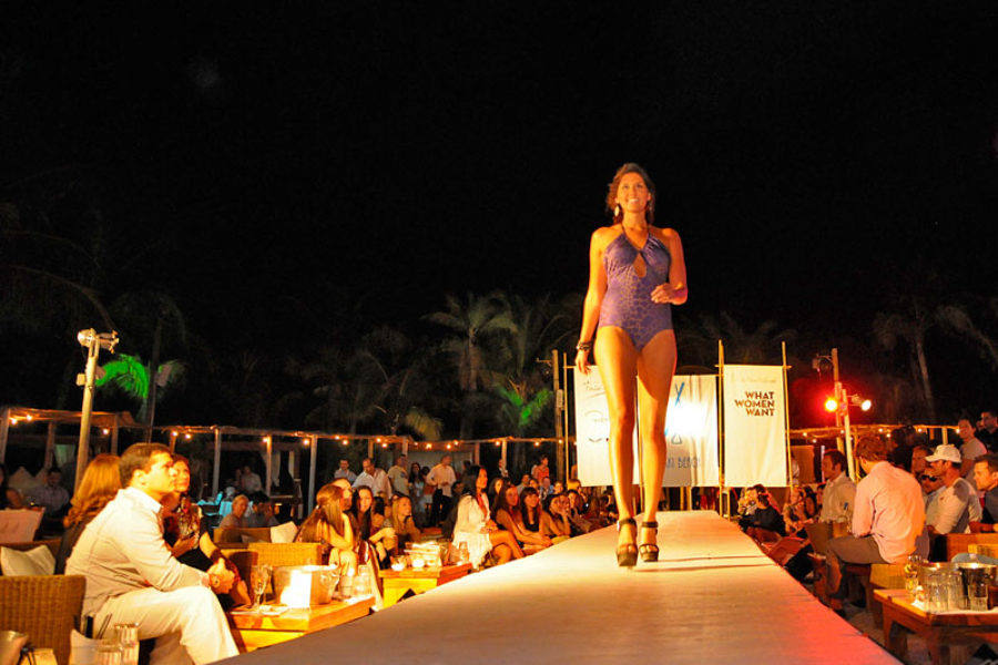Nikki Beach Fashion Show Miami