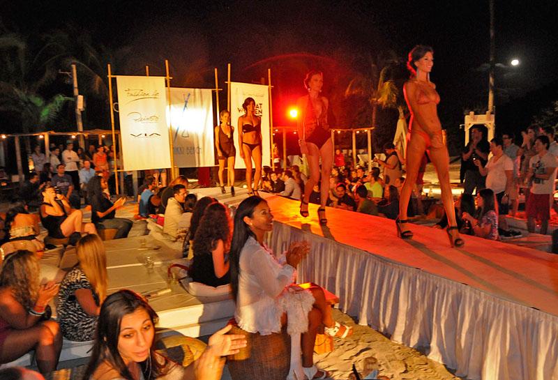 Nikki Beach Miami Fashion Show