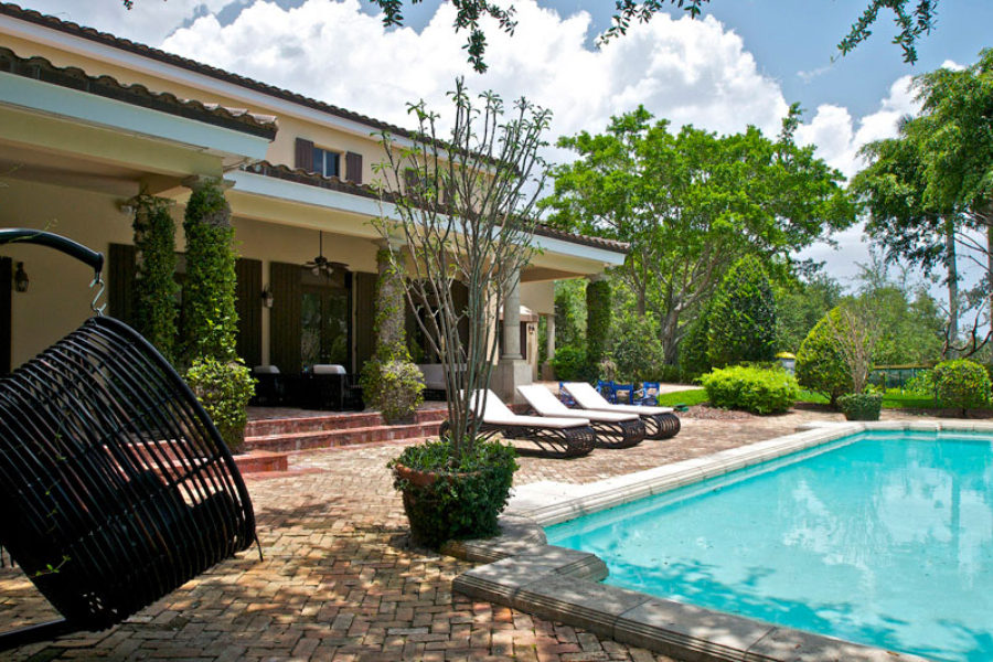 Coral Gables Luxury Home Pool