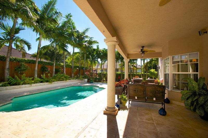 Kendal House pool