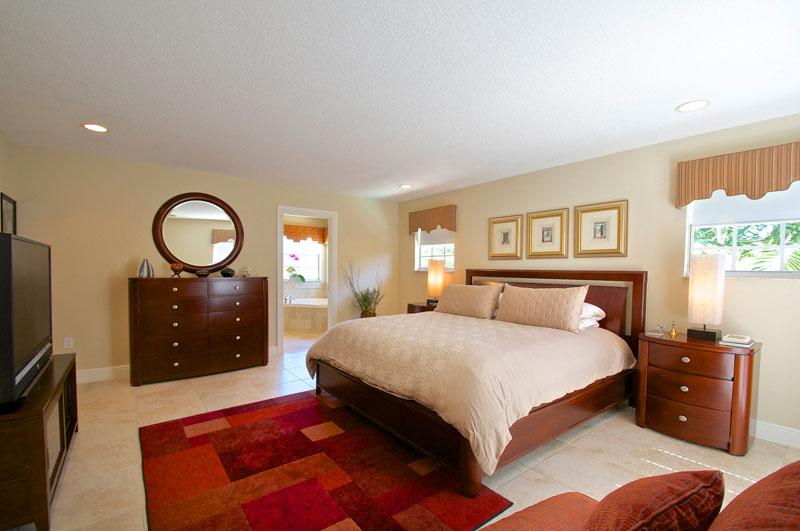 Kendal House bedroom