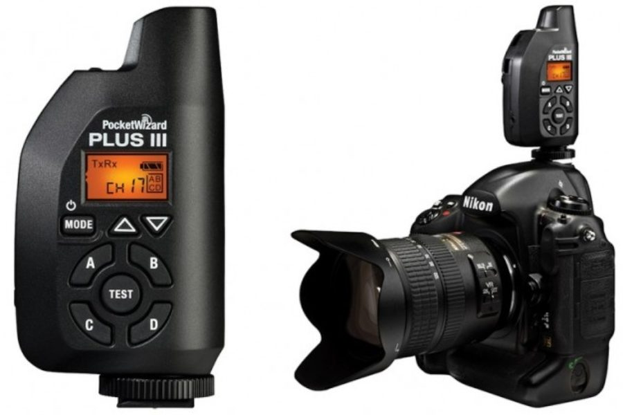 PocketWizard Plus III equipment