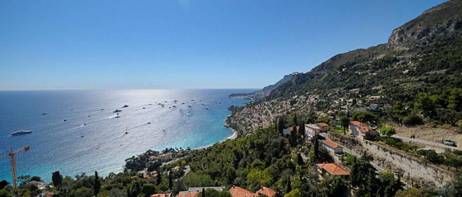 Roquebrune-Cap-Martin beautiful view