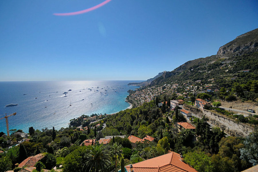 Roquebrune-Cap-Martin beautiful view