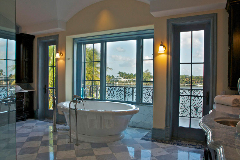 Arvida Parkway House bathroom in Miami, FL