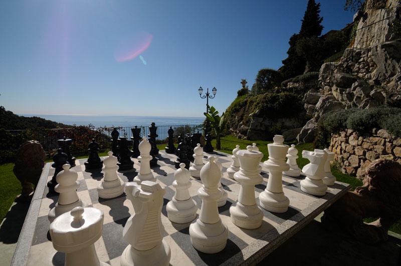 Chateau De La Chèvre D'or Chess Terrace