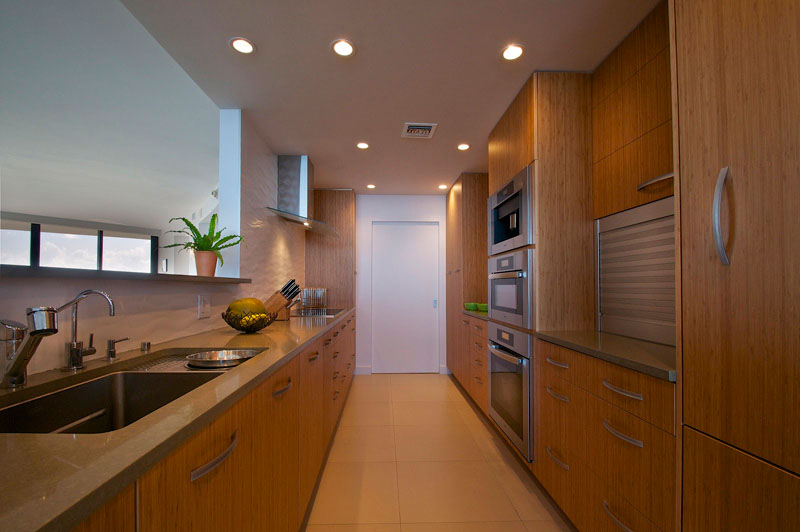 Palm Bay Tower Apartment Kitchen