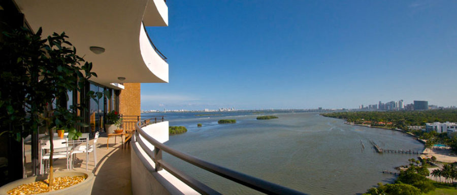 Palm Bay Tower Apartment Terrace view