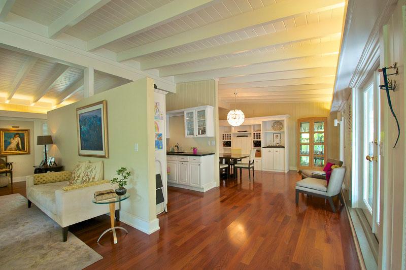 kitchen at Miami luxury house