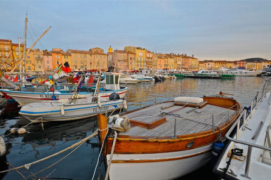 port in Saint-Tropez