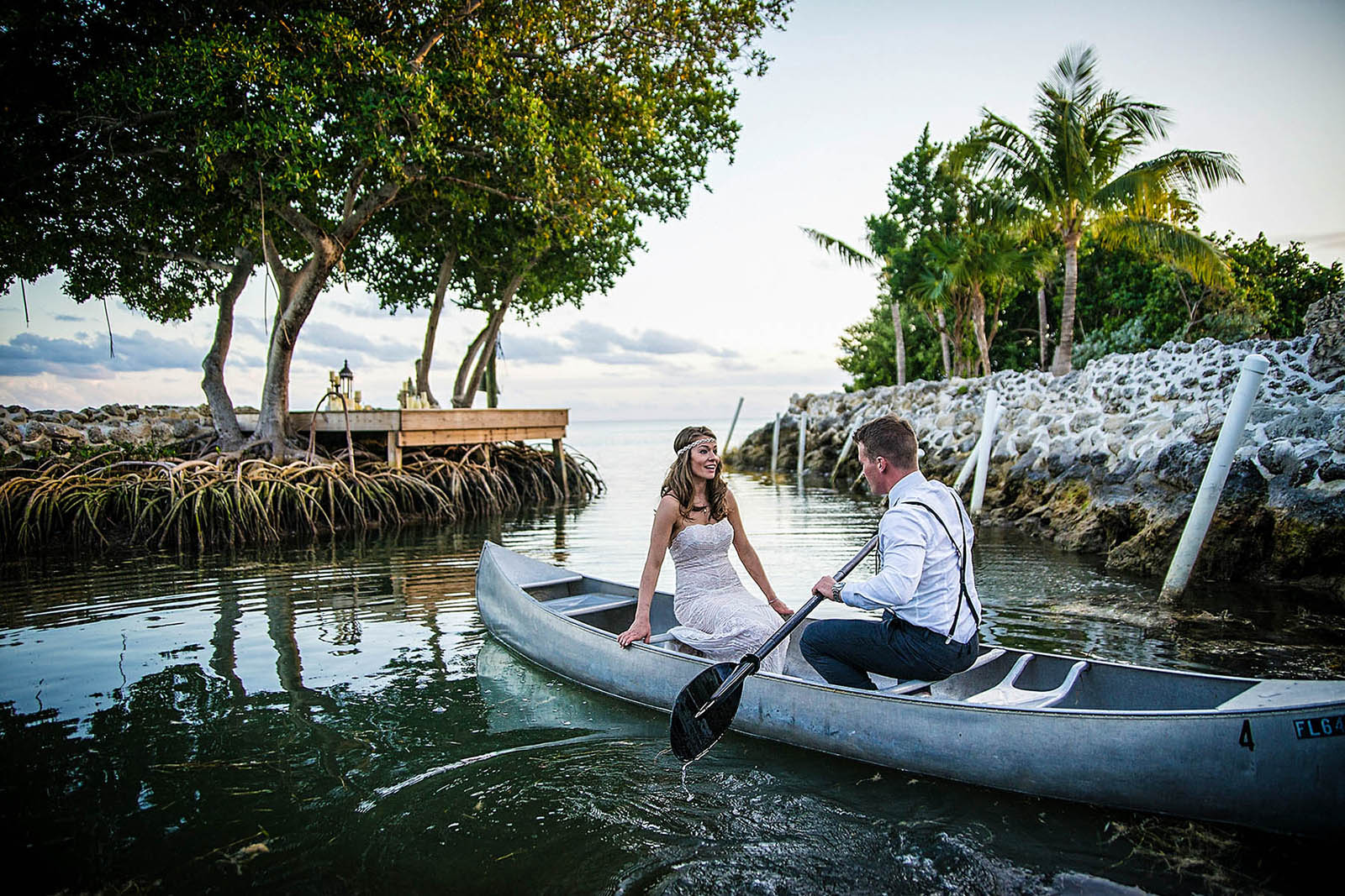Romantic wedding in Miami