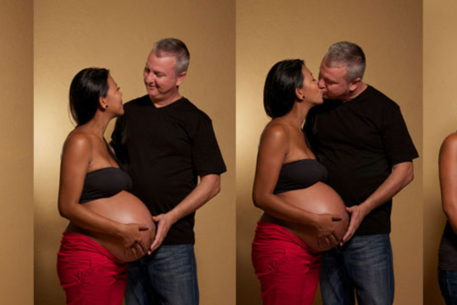 Maternity Session for Erl and Devin