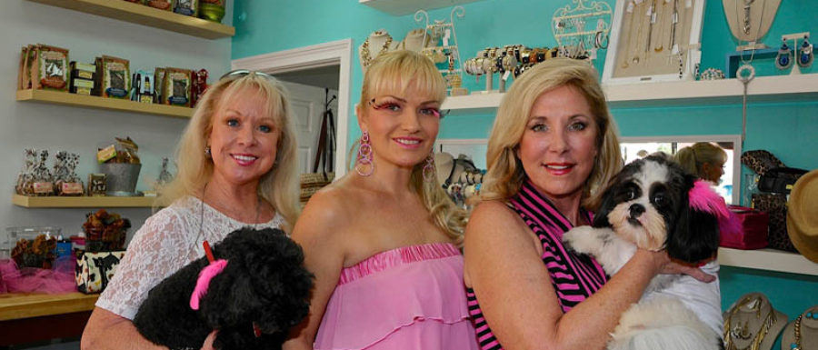 paws & stilettos event in salon bark