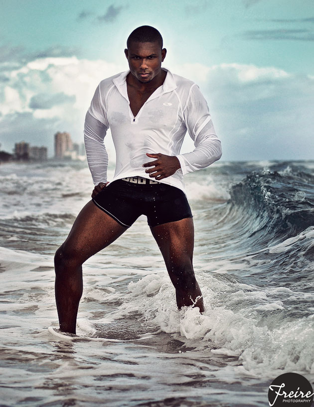 Joe Johnson Personal Trainer at the Beach