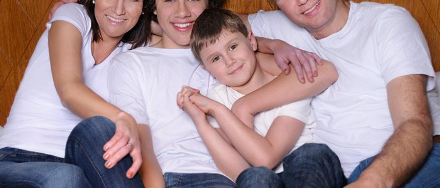 Roman Talaš s rodinou