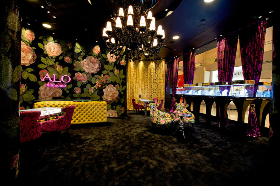 Alo Diamonds new boutique in Miami