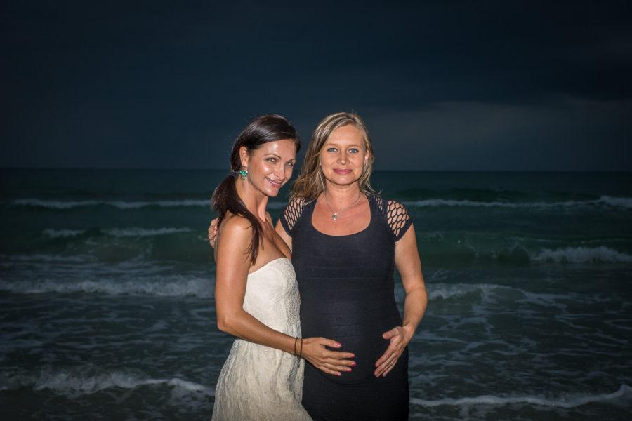 Alex and Daniela at Siesta Beach
