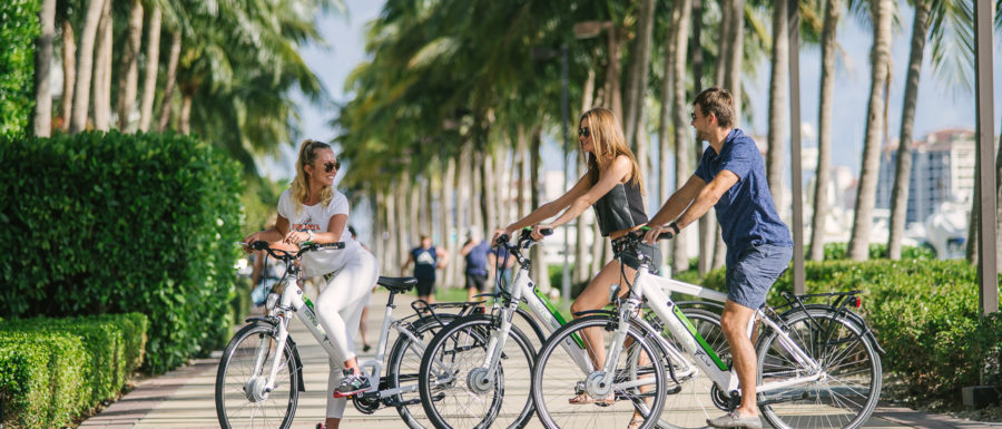 StoneFly e-bikes in South Beach