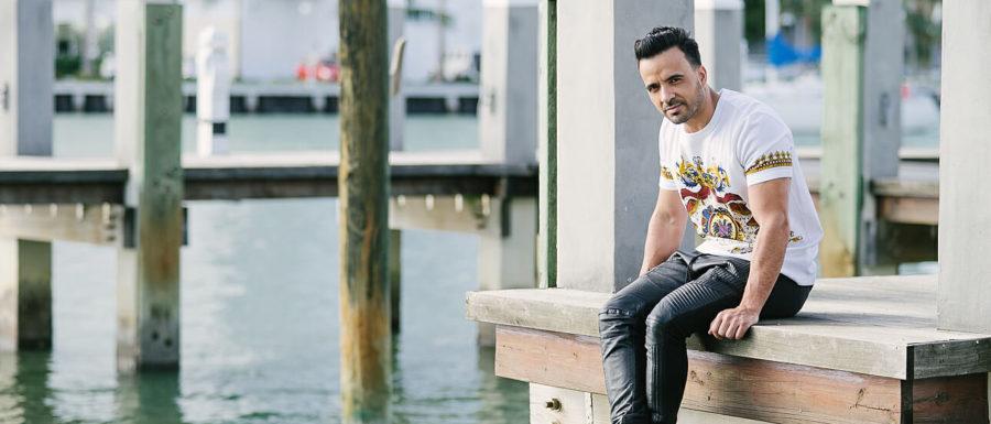 Luis Fonsi cover shoot in Miami Beach
