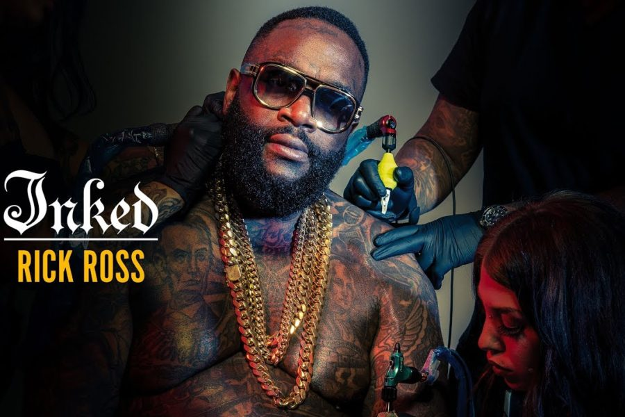 Rick Ross Cover Photoshoot for Inked Magazine
