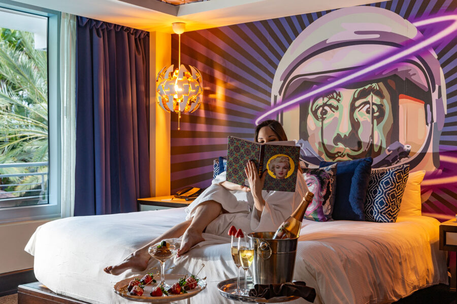 Valentine's Day at The National Hotel in Miami Beach